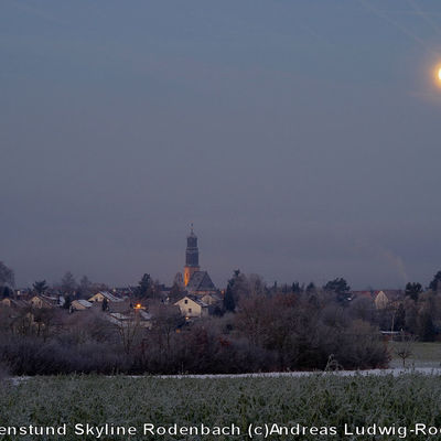 11-Morgenstund Skyline Rodenbach (c)Andreas Ludwig-Rodenbach