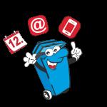 Nie mehr die Mülltonne vergessen: Neue Abfall-App erinnert rechtzeitig an Müllabfuhrtermine
