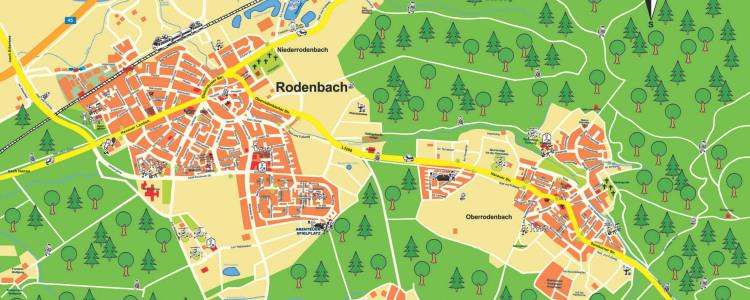 Kinderortsplan von Rodenbach (c) Michael Rautenberg
