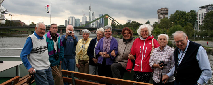 Rodenbacher Senioren auf der Mainschiffahrt